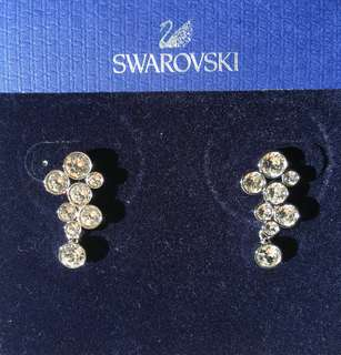 New Genuine Swarovski Fidelity Earrings 5022420