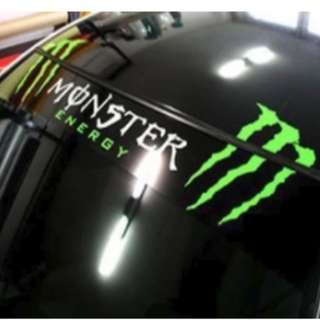 monster dashboard sticker 145cm (fit up to 10ft lorries)