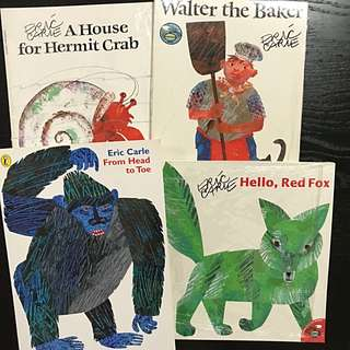 Eric Carle's Paperback Collection