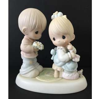 Precious Moments Figurine - My Love Blooms For You (check mouse)