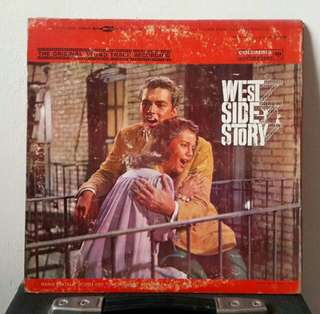 West Side Story vinyl record/plaka/LP