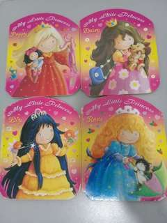 My Little Princess Girls' board books by Brown Watson