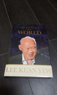 Lee Kuan Yew Book - One Man's View of World