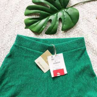 Green Cullote By Stradivarius