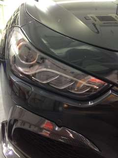 FRONT HEAD LAMP SMOKE BLACK PROTECTER FILM