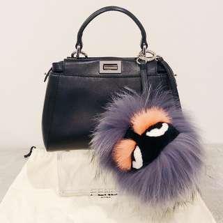 Cute Fendi Monster Bag Bug Charm Keyring