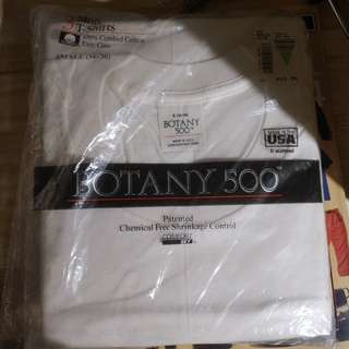 80s Botany 500 3-pack tshirt made in usa
