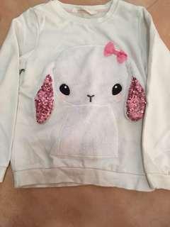 cute bunny sweater