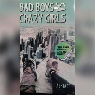 Ebook Bad Boy Vs Crazy Girls