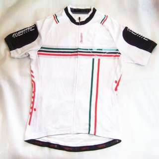 ~~~AMC CyCLing Jersey/ Shirt SiZe L (white) $48~~~
