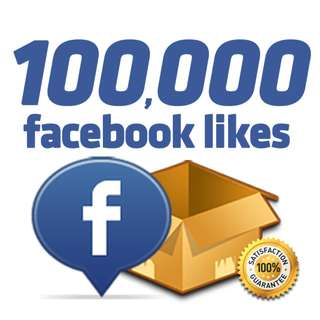 100,000 Facebook Page like 5% OFF