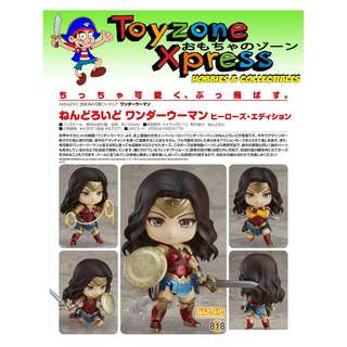GSC - Nendoroid 818 - DC Universe - Wonder Woman: Hero's Edition