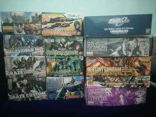 Bandai Gundam Kits