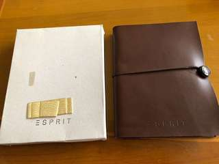 Brand New Espirit Brown Leather Organiser