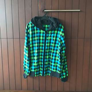 Green Gingham Jacket