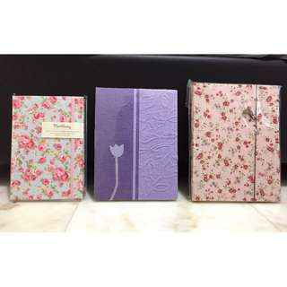 Notebooks and Journals (set of 3)