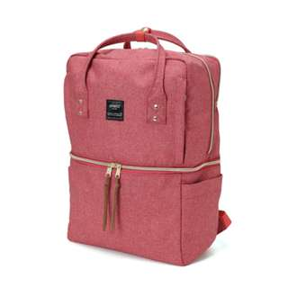 AT-C1228 Anello Double-layer multi-func backpack - Pink