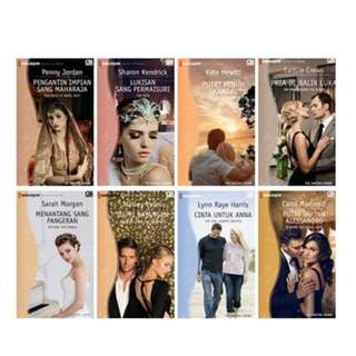 Paket Ebook The Santina Crown Series (Harlequin Terjemahan)