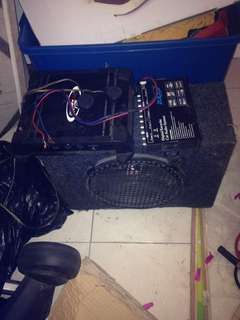 AUDIO SYSTEM FOR CAR