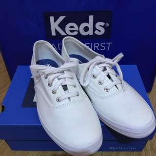 (Brand New) KEDS Champion White Canvas