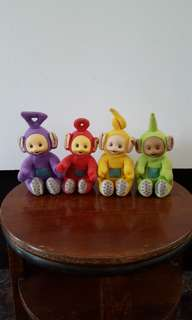 Vintage set of Tellytubbies