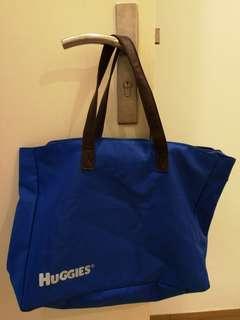 Blue woman bag
