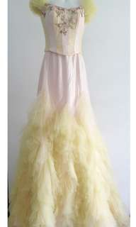 Wedding or dinner Gown