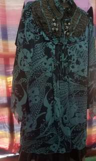 Long Dress cocok buwat pesta pernikahan Size L