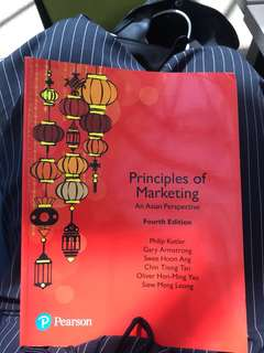 Principles of marketing, Asian Perspective 4th edition