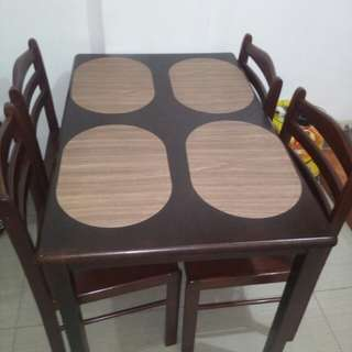 Dining Set 4-Seaters