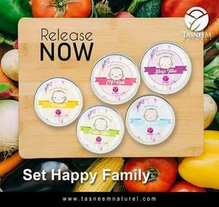 Tasneem Naturel Balm(Set Happy Family)