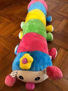 Caterpillar stuff toy