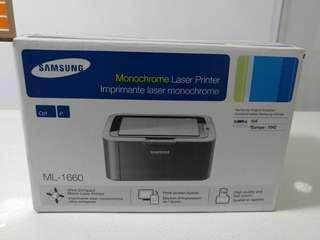 Samsung laser printer - no tonner