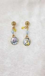 Jp Alice in Wonderland Classic Earrings