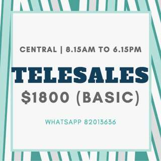 TELESALES OFFICERS FOR BANKS // MANY POSITIONS // EARN UP TO $3K/MONTH