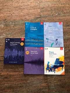 ABRSM Grade 6 Piano Books