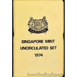 1974 sets coint - 10sets for $460