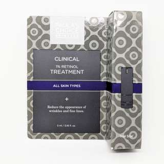 Paula's Choice Clinical 1% retinol treatment 5ml trial size