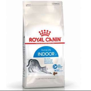 * FREE DELIVERY ROYAL CANIN INDOOR 27 10kg IN STOCK!!