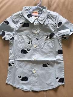 Little Whales Boy Shirt