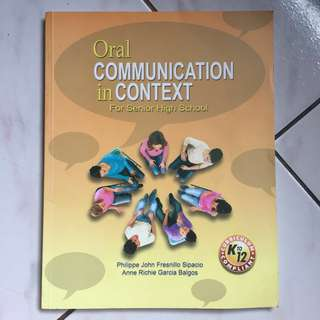 Oral Communication in Context SHS