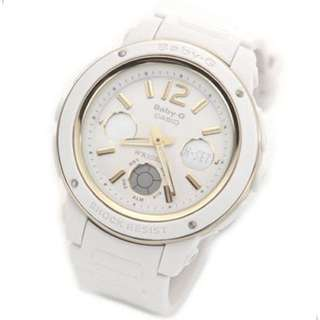 Casio Baby-G white Gold watch