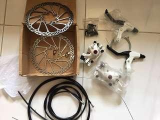 Disc brakes 160mm