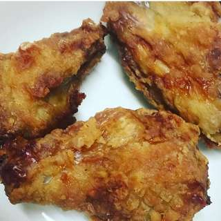 AIR FRIED HONEY CHICKEN
