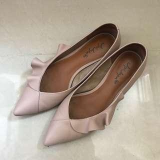 Jipi Japa Flat Shoes 尖頭 平底鞋 淺粉紅 夏天 上班 245