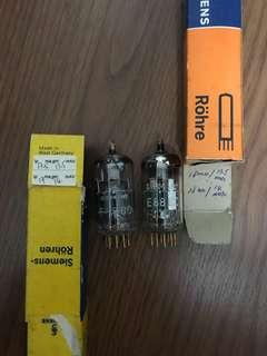 Siemens E88CC tubes