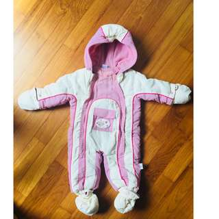 All in one Snow / ski suit for a baby