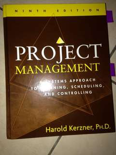 Project Manager Book