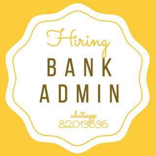URGENT>> 1 YEAR CONTRACT ADMIN ● *BANK* ● NO EXPERIENCE NEEDED ● $$ HIGH PAY $$
