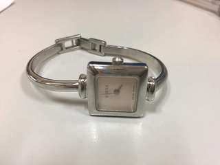 Authentic Gucci Watch Silver Bangle